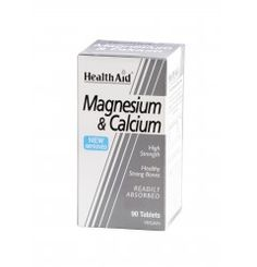 Magnesium And Calcium provides two vital minerals, with added Vitamin C for optimum for absorption and efficacy. Calcium plays an important role in the development and maintenance of healthy strong bones.  Magnesium is necessary for the metabolism of Calcium, and is useful in supporting muscular, cardiovascular and nervous system functions.