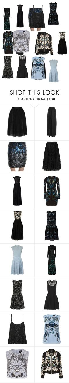 """Untitled #3319"" by luciana-boneca on Polyvore featuring Needle & Thread, women's clothing, women's fashion, women, female, woman, misses and juniors"