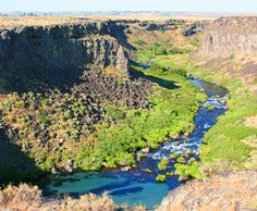 Thousand Springs State Park (ID, USA) has several units to explore: Malad Gorge, Kelton Trail, Earl M. Hardy Box Canyon Springs Nature Preserve, Billingsley Creek, Ritter Island, Crystal Springs and Niagara Springs.  These incredible scenic areas are all within a short driving distance of each other.