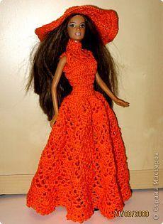 Вязание крючком - Платье для Барби-7 » Поиск мастер классов, поделок своими руками и рукоделия на SearchMasterclass.Net