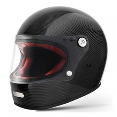 Premier Trophy Helmet - Carbon | Full Face Motorcycle Helmets | FREE UK delivery - The Cafe Racer