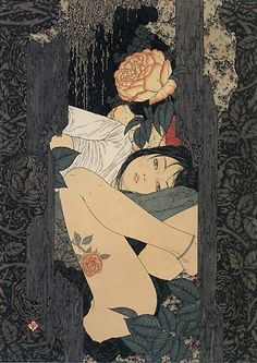 Taurus likes a well organized, clean, and neat living environment, otherwise they feel they cannot relax. (horoscopescafe.com) (Art: Takato Yamamoto)