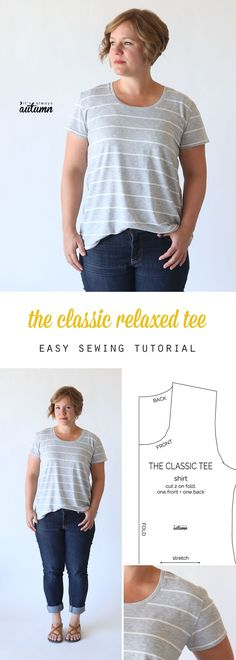 How to sew a classic