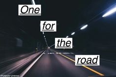 One For The Road ~ Arctic Monkeys
