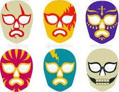luchador masks illustration - Google Search