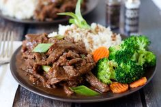 You don't need to go out to enjoy Mongolian beef for dinner.  You can make it in your Instant Pot.  Get this recipe.