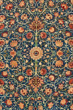 William Morris Wallpaper, William Morris Art, Morris Wallpapers, Arts And Crafts For Teens, Art And Craft Videos, William Morris Patterns, Image Deco, Motif Art Deco, Holland Park