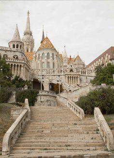 Fisherman Bastion, Budapest, Hungary. Cant wait to make my Eastern European trip!
