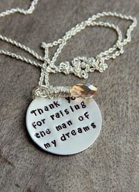 mother in law necklace.