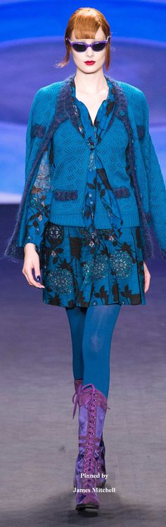 Anna Sui Collection  Fall 2014 Ready to Wear
