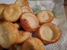 After trying numerous vegan Yorkshire pudding recipes I finally came across this one which is perfect. I've no idea where it original...