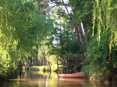 Tigre Delta (near Buenos Aires) - made up of thousands of remote islands, streams and canals