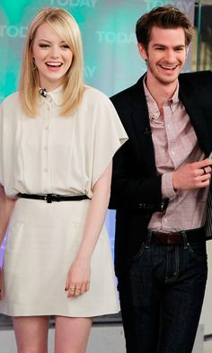 Emma Stone And Andrew Garfield On The Today Show, 2012