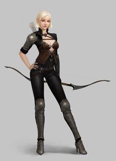 Archeress by moogyu.deviantart.com on @DeviantArt