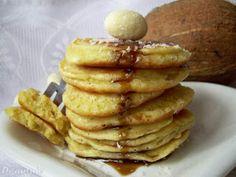 Placuszki maxi kokosowe (wg Gordona Ramsay'a) Mille Crepe, Gordon Ramsay, Crepes, Dutch, Pancakes, Cook, Drinks, Breakfast, Baby