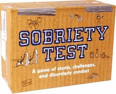Sobriety Test Game - I love crazy board games