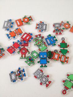 Robotter i krympeplast