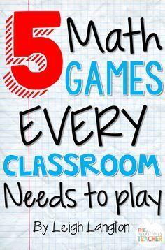 5 Math games that EV
