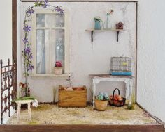 Gorggeous little Summer Nook from Roelie of La petite Sofie