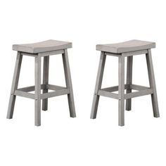 Winners Only 24 in. Backless Counter Stool - Set of 2 - WIN652