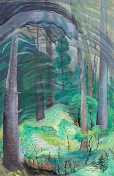 Summer, Mount Douglas, Emily Carr Tom Thomson, Emily Carr, Impressionist Paintings, Landscape Paintings, Abstract Landscape, Landscapes, Canadian Painters, Canadian Artists, Jackson