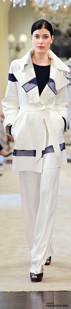 FASHION AND STYLE ; Ralph Lauren Resort 2015 lots of wraps and belts