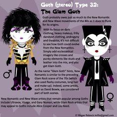 #32: Glam Goth by Trellia.deviantart.com on deviantART
