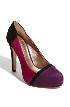 BCBGeneration 'Perries' Pump...$109. I would VERY much like these to go on sale....I'd have a hard time deciding between the blue and the purple....presently leaning blue.