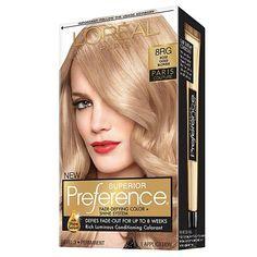 L'Oreal Paris Preference Paris Couture Haircolor Rose Gold Blonde (8RG)