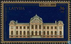 1995 Latvia - 36 multicolored