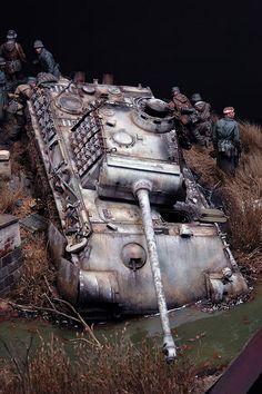 Diorama Segunda Guerra Mundial 7