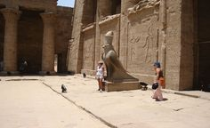 Edfu Temple with Egypt Nile Cruises / http://www.shaspo.com/egypt-nile-cruises-river-cruises-cruise-deals-nile-cruise / with Egypt Nile Cruises you will visit other cities like Aswan and Luxor.