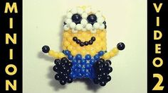 Tutorial - Minions de miçangas - YouTube