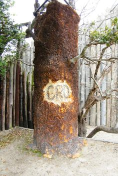 Recent clue to the Lost Colony of Roanoke could be that they just moved on to Croatoan colony?
