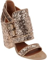 GIVENCHY glitter shoe