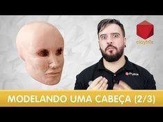 Método fácil de modelar uma cabeça (1/3) | Claytrix (T02E02) - YouTube