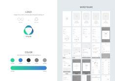 2019 Portfolio - 그래픽 디자인, UI/UX Wireframe, Bar Chart, Ui Ux, Design, Future, Future Tense, Bar Graphs, Website Wireframe