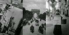old Paris, postcards