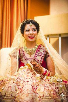 "Photo from Stylist and Makeup Artist Sohni Juneja ""Portfolio"" album Bridal Lehenga, Saree Wedding, Saree Gown, Sari, Wedding Preparation, Bridal Make Up, Her Style, Stylists, Gowns"