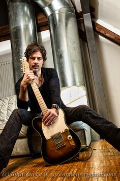 A shot of Richie Kotzen of The Winery Dogs.  I shot this backstage at a venue in Germany back in 2013.