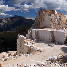 Carrara marble is a type of white or blue-grey marble used in sculpture and #buildingdecor. How are you keeping cool during this heat wave? Did you know that marble or stone keep your home cool?  It absorbs around 20% of the heat!   Learn more about the types of stone and its finish on different areas in the house. http://themarblemancompany.blogspot.in/2014/01/types-of-finish-stone-surfaces-require.html