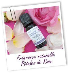 Fragrance cosmétique naturelle Pétales de Rose Aroma-Zone