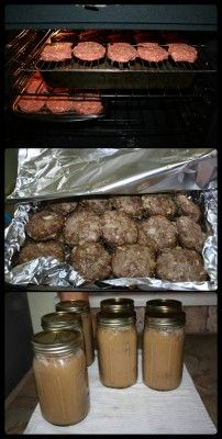 The Homestead Survival | How To Can  Amish Poor Man's Steak In Mushroom Gravy | http://thehomesteadsurvival.com
