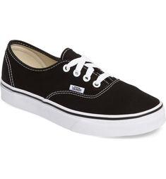 VANS AUTHENTIC SNEAKER. #vans #shoes Vans Style, Vans Shop, Canvas Sneakers, Vans Authentic, Skate Shoes, Keds, Trainers, Nordstrom, Textiles