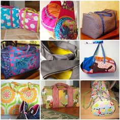 Duffel Bag Round Up Tutorial