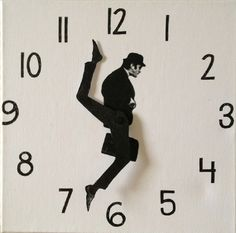Monty #Python Silly #Walks #Clock ,  Wall Clocks You Can Make Yourself