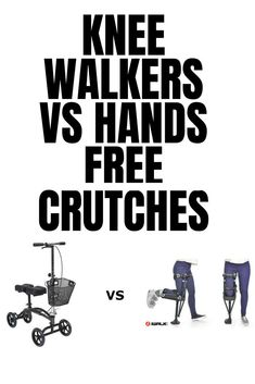 Comparison between alternative knee waker, knee scooters, crutches and hands free crutches. Take a look at knee walkers vs hands free crutches Fracture Healing, Knee Scooter, Ankle Surgery, Broken Foot, Leg Injury, Leg Cast, Sprained Ankle, Surgery Recovery, After Surgery