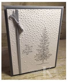 #stampinup   #faithfulinkspirations   The last of the cards for my September Christmas card-making class also features a clean and simple de...: