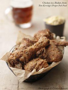 FRIED CHICKEN IN A BASKET | Tom Kerridge's Proper Pub Food