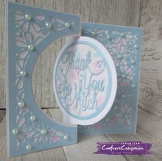Kinetic Card made using Crafter's Companion Die'sire Create a Card Circle Centre die – designed by Jen Fisher #crafterscompanion